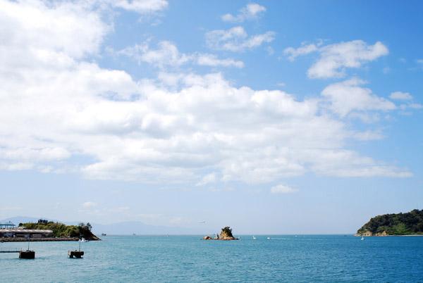 ocean, island, airplane
