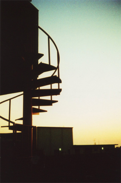 stairs leading to the future